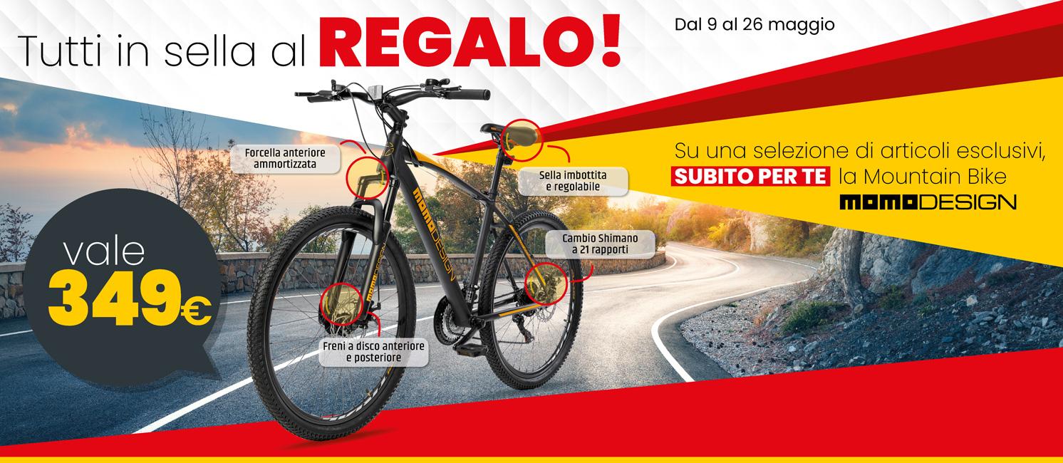 Volantino - Omaggio bici