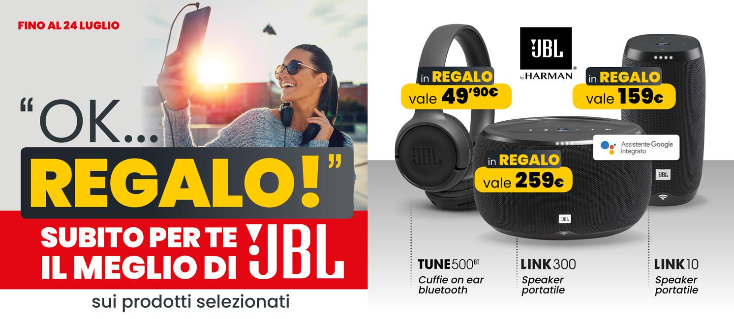 Volantino - Omaggio JBL