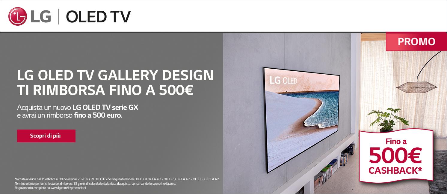 LG oled tv gallery cashback
