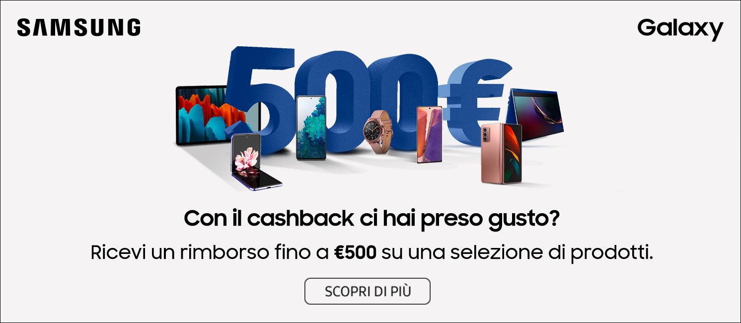 Samsung Galaxy Cashback