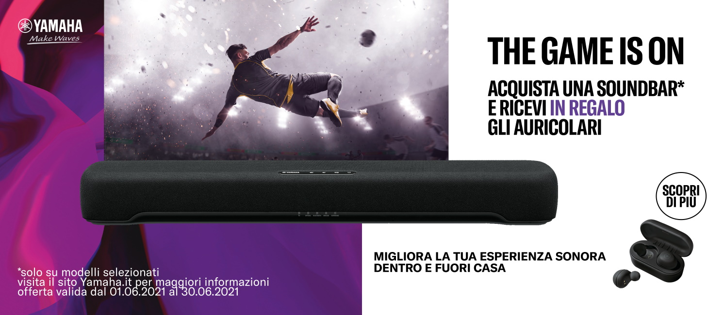 Promo: Speciale Soundbar Yamaha