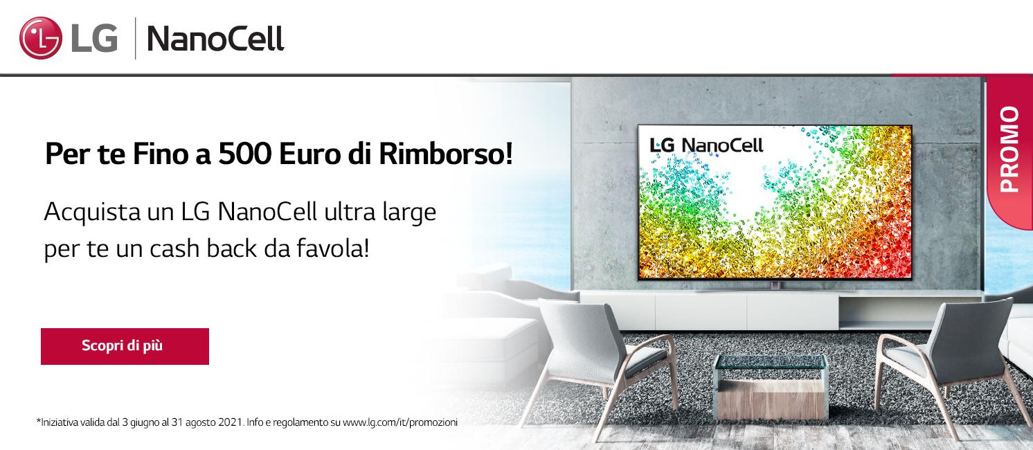 Promo: Scegli un TV LG NanoCell