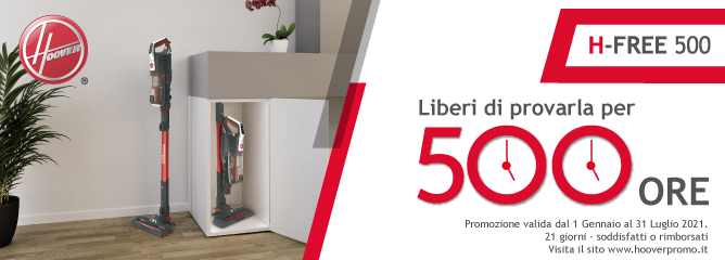 Promo: Hoover H-Free 500