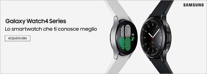 Promo: Nuovi Samsung Galaxy Watch 4