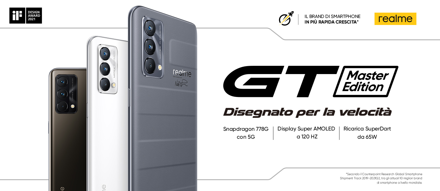 Promo: Realme GT Master Edition