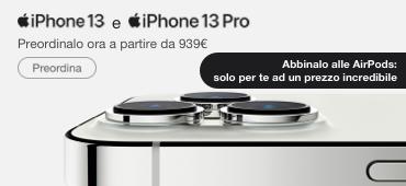Promo: Preordina Iphone13 con Airpods ad un prezzo speciale