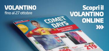 "Promo: Volantino ""COMET DAYS""!"