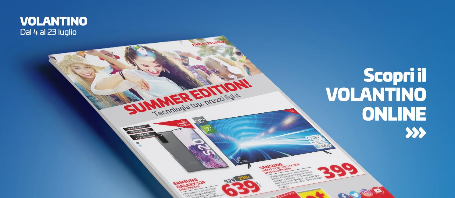 Promo: Volantino Summer Edition!