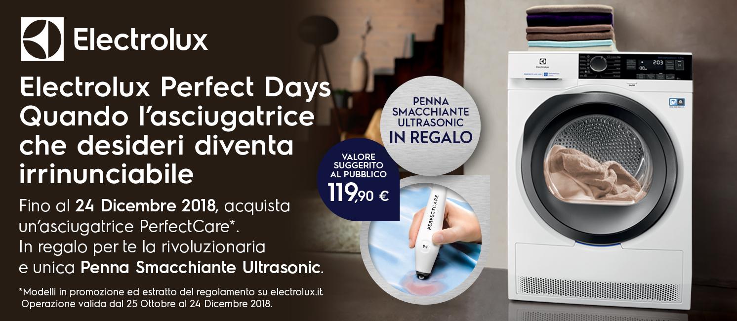 ELECTROLUX PERFECT DAYS: QUANDO L'ASCIUGATRICE CHE DESIDERI DIVENTA IRRINUNCIABILE