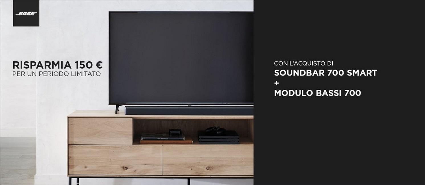 Promo: Bose Soundbar 700 + Bass Module 700