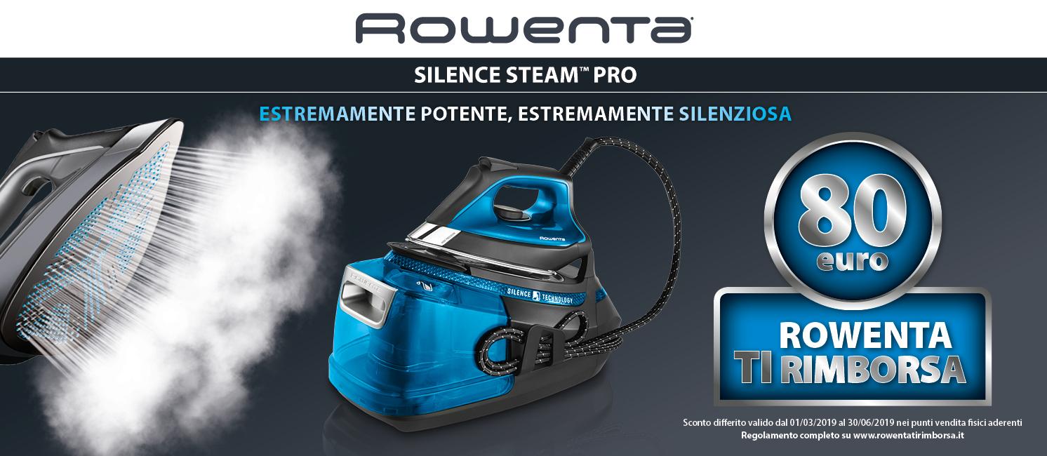 Promo: Rowenta Cashback Silence Steam Pro