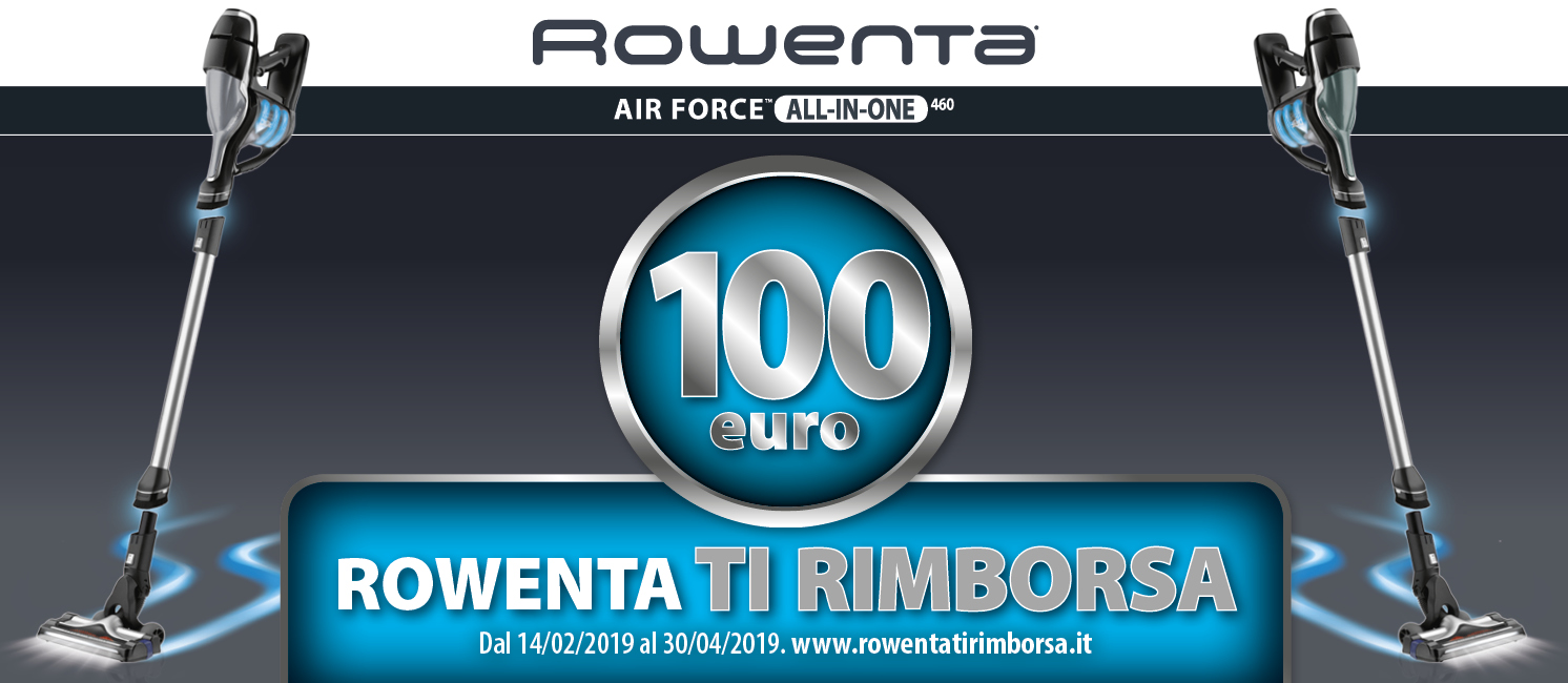 Promo: Rowenta Cashback Air Force All-In-One 460