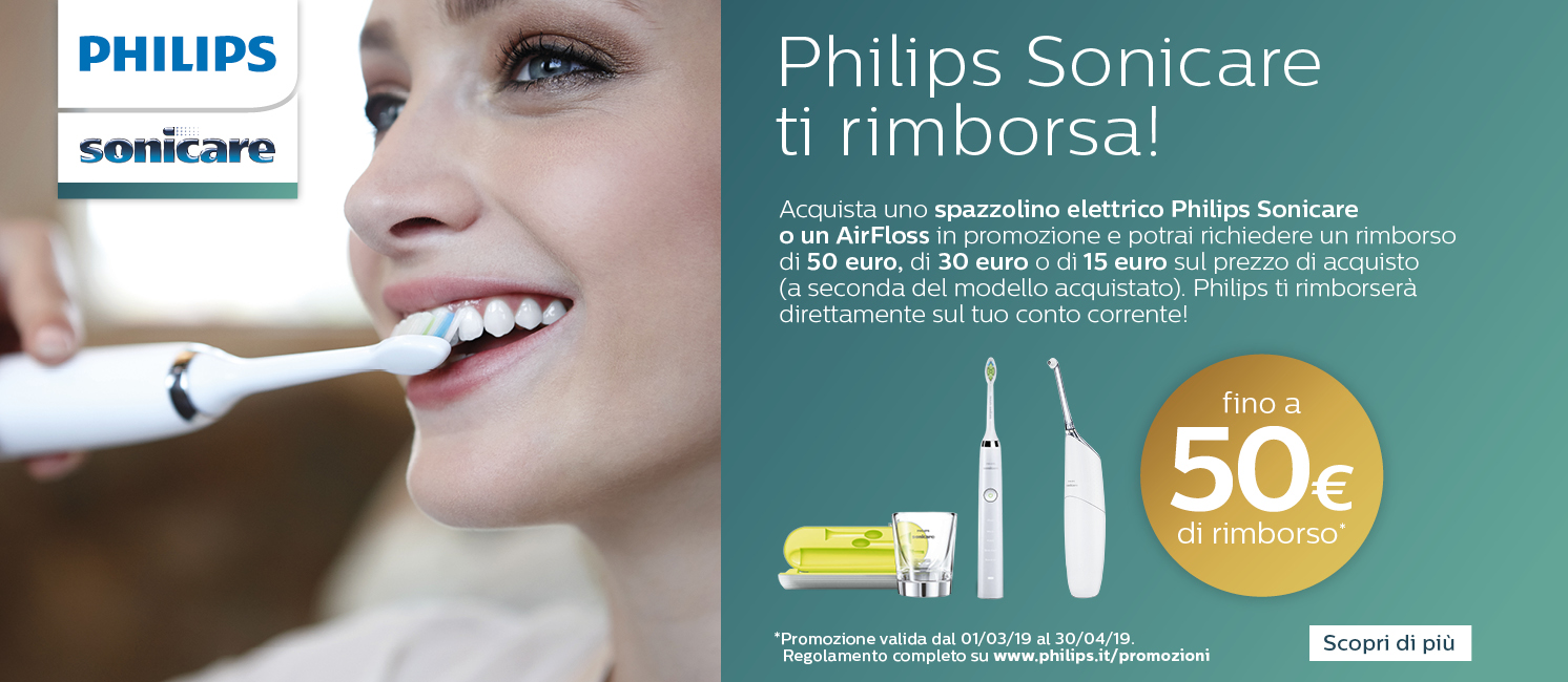 Promo: Philips Cashback Sonicare