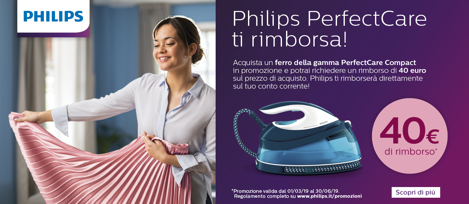 Promo: Philips Cashback PerfectCare Compact