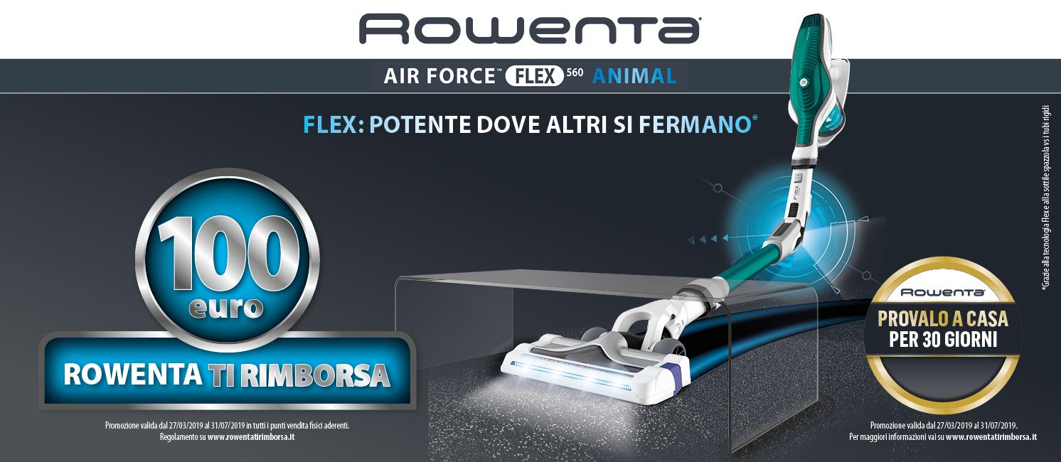 Promo: Rowenta Cashback Air Force Flex 560