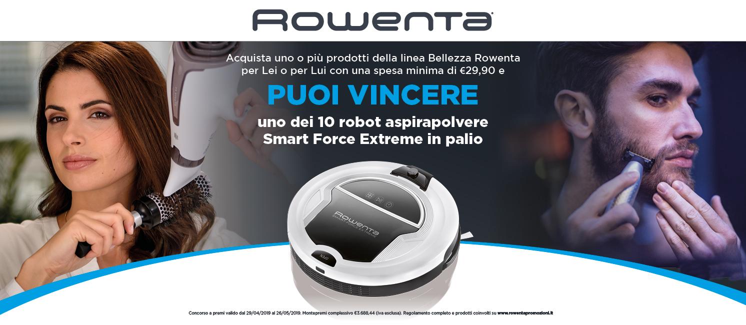 Promo: Vinci Robot Rowenta Smart Force Extreme