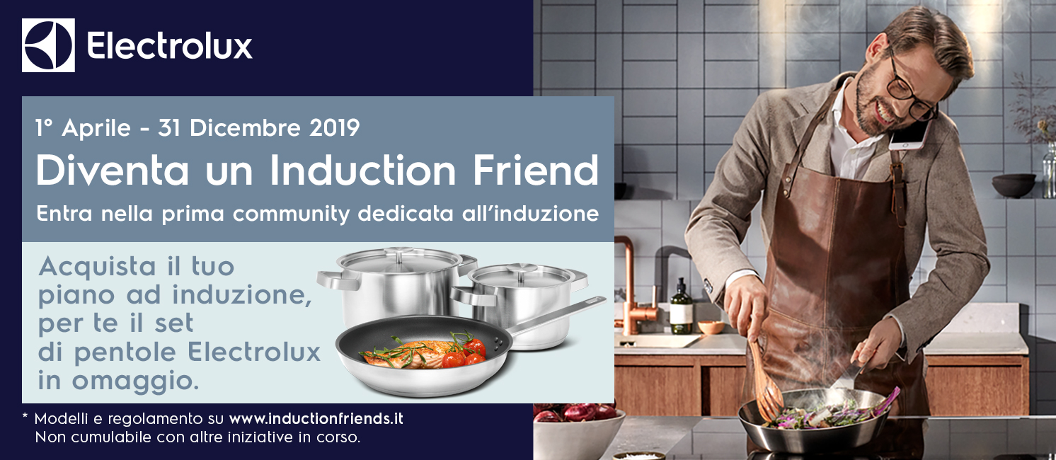 Promo: Electrolux Induction friends
