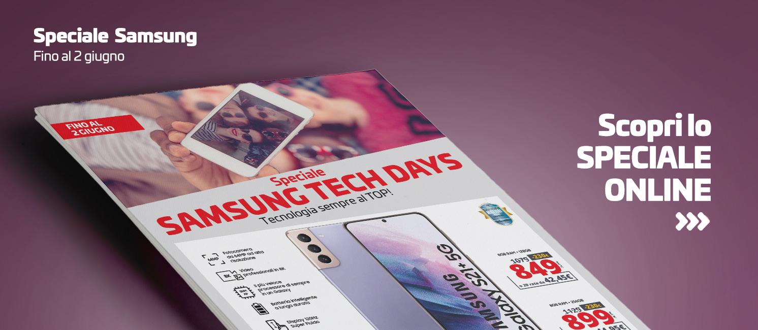 Promo: Speciale Samsung Tech Days