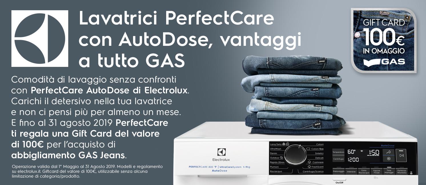 Promo: Lavatrici PerfectCare con AutoDose, vantaggi a tutto GAS