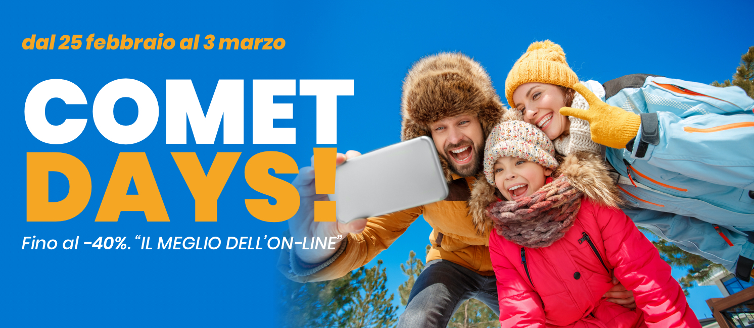 Promo: Comet Days!