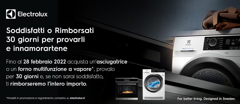 Promo: Electrolux Soddisfatti o Rimborsati