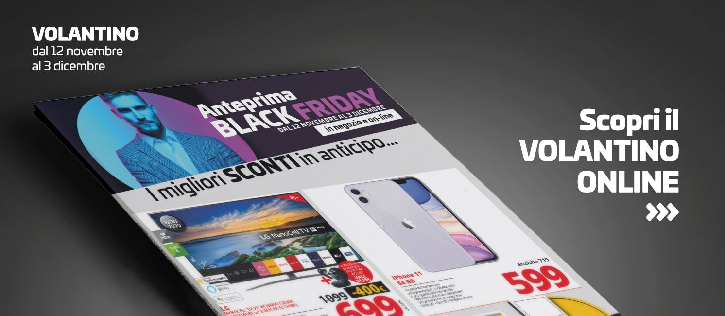 Promo: Volantino Anteprima Black Friday!