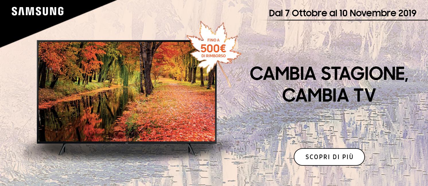 Promo: CAMBIA STAGIONE CAMBIA TV