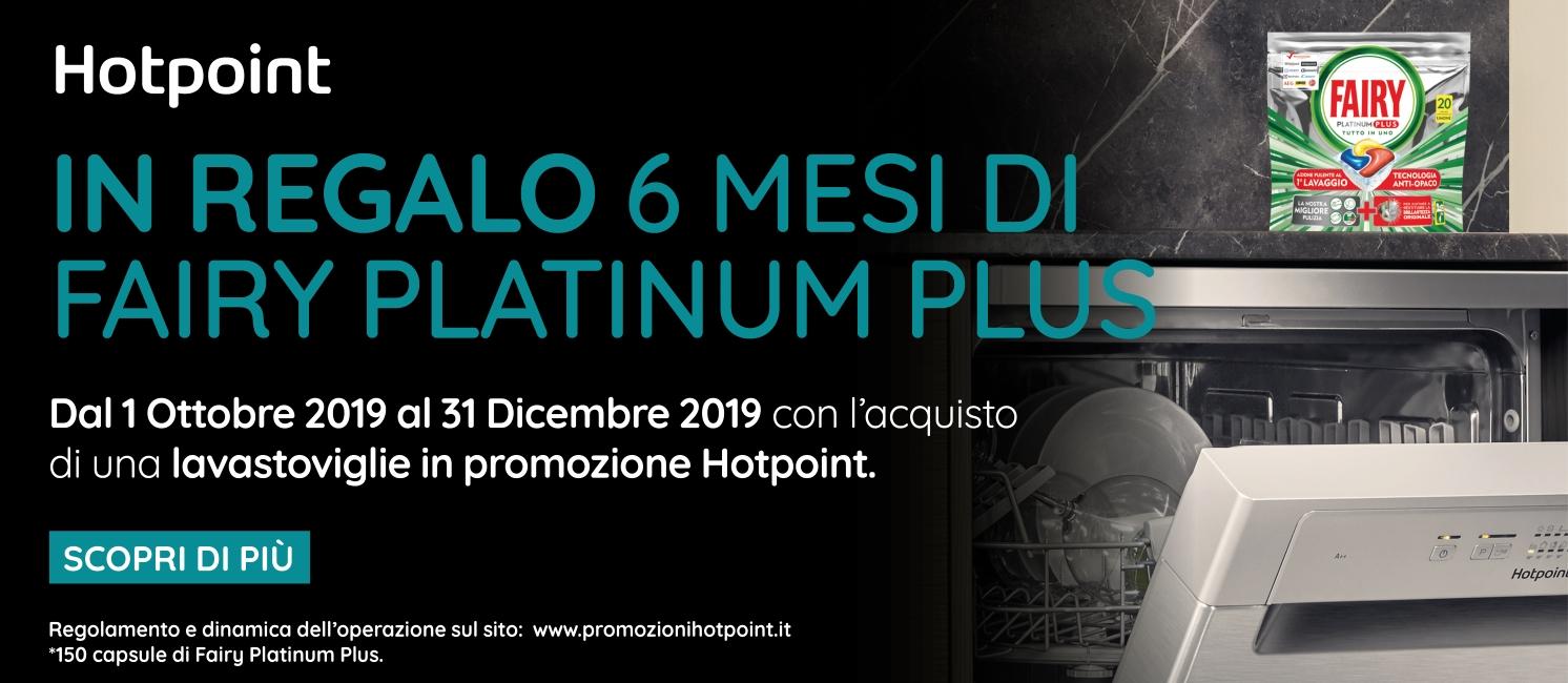 Promo: HOTPOINT TI REGALA 6 MESI DI PULITO
