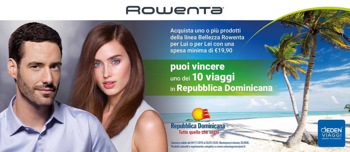 Promo: Con Rowenta Vinci Repubblica Domenicana