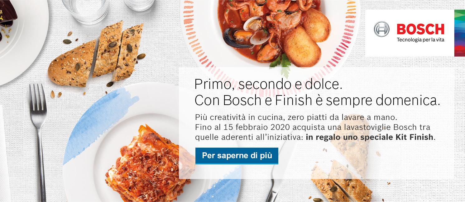 Promo: Con Bosch e Finish è sempre domenica