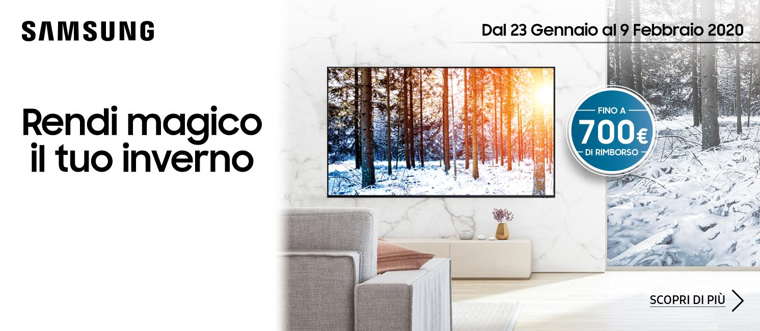 Promo: Samsung - Rendi magico il tuo inverno
