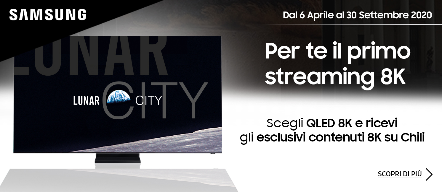 Promo: Samsung TV QLED Streaming 8K