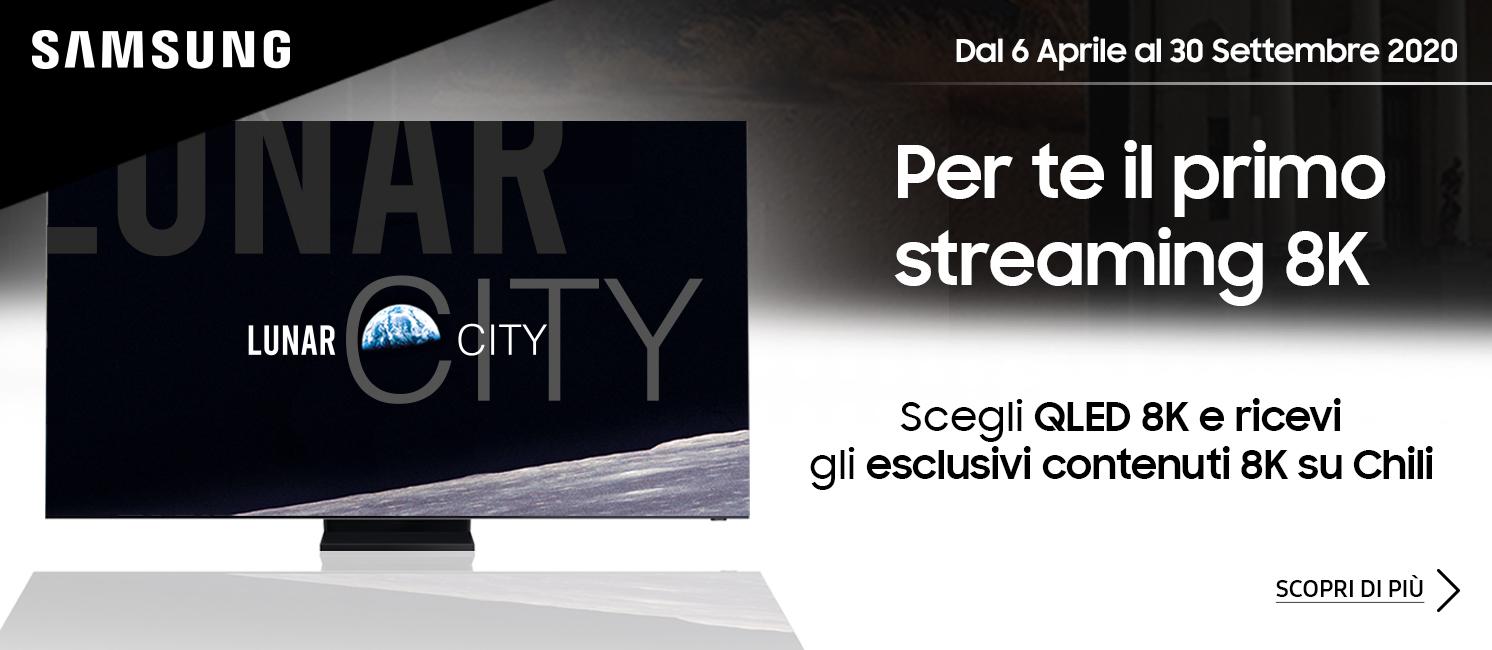 Promo: Samsung TV QLED Streaming 8K