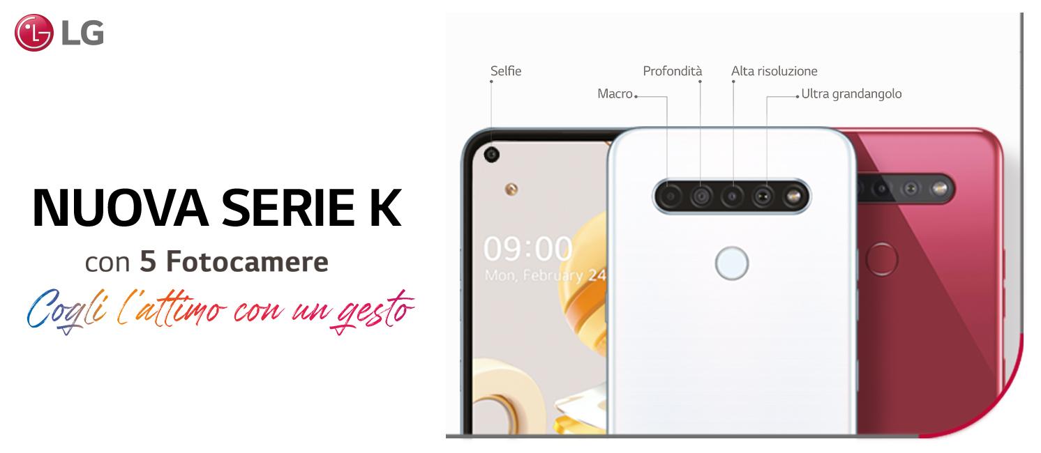 Promo: Nuovi LG K51s-K41s