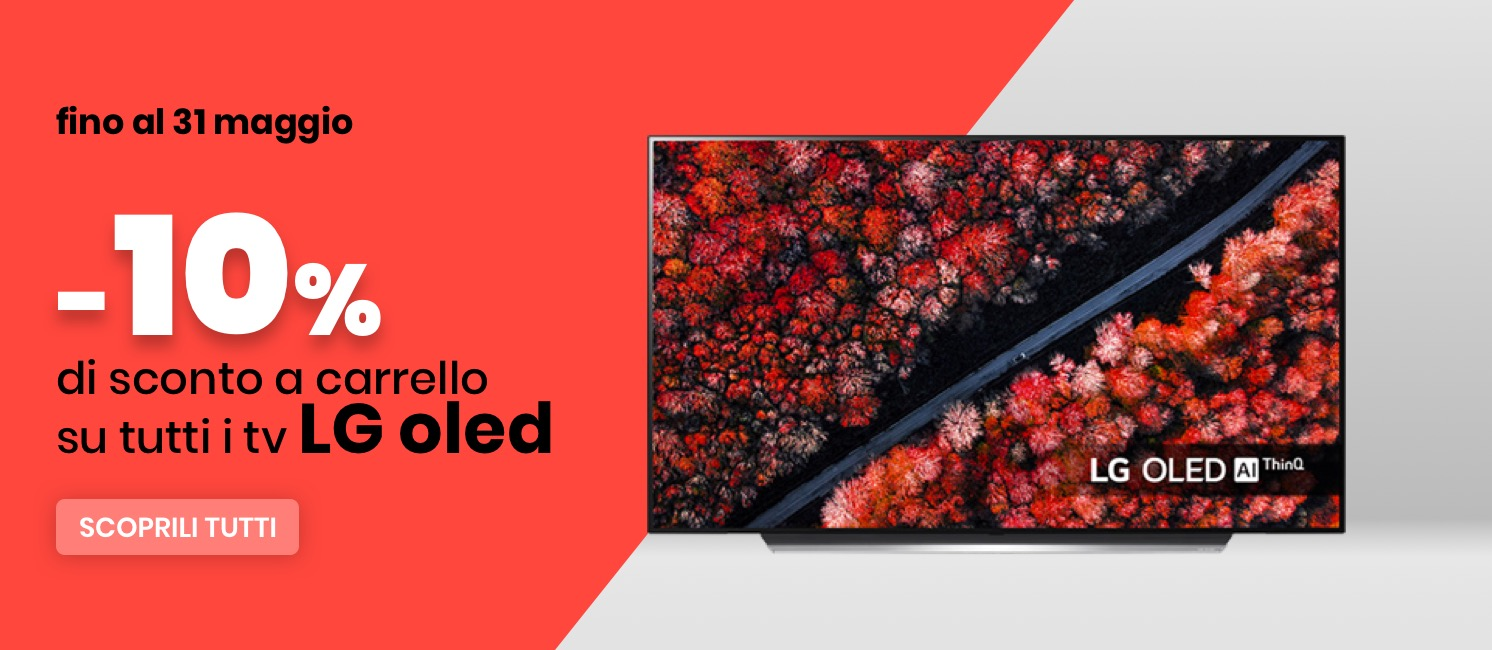 Promo: Speciale Sconto 10% TV LG OLED