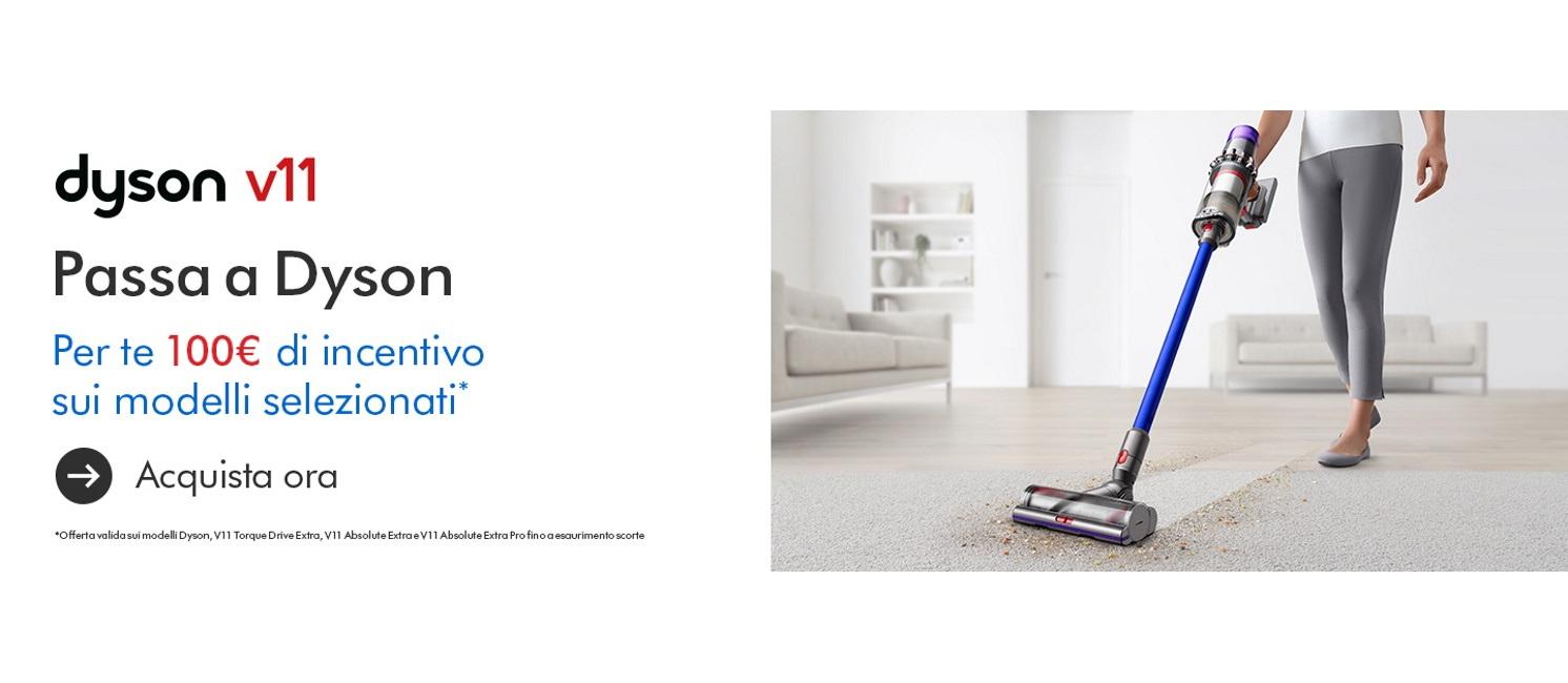 Promo: Speciale Dyson: tutta la potenza a casa tua
