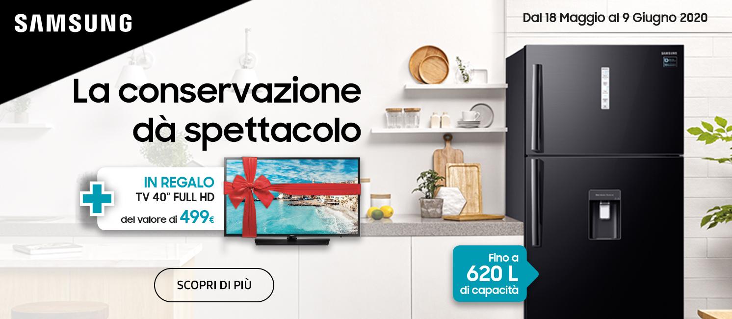 Promo: Con Samsung la conservazione dà spettacolo!