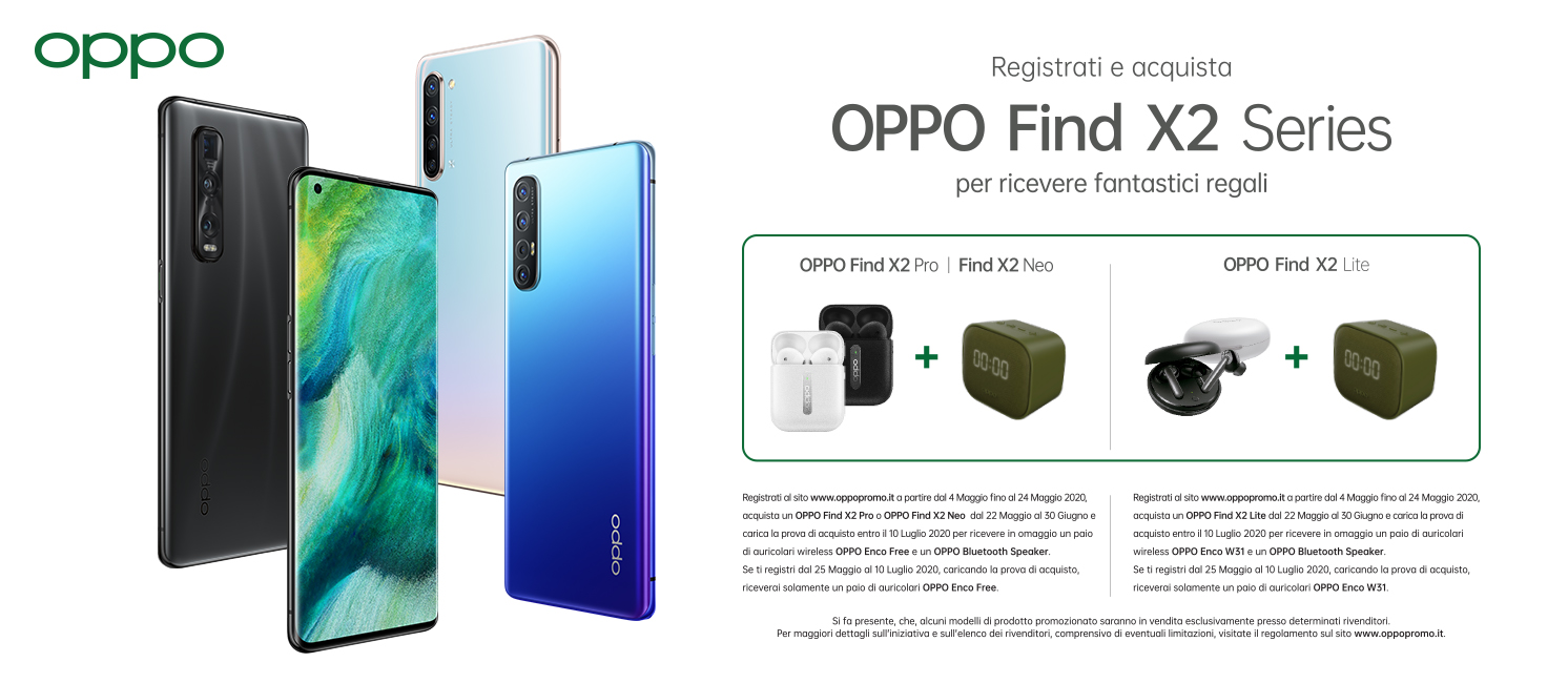 Promo: Oppo Find X2 Series