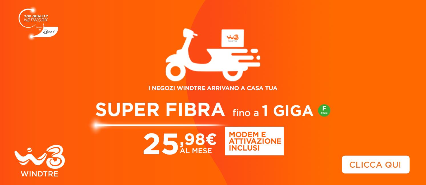 Promo: Wind Super Fibra