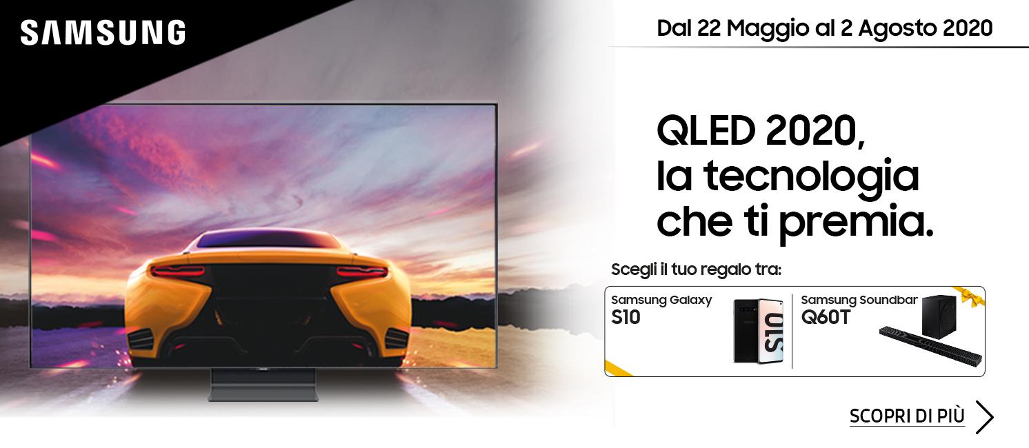 Promo: Samsung QLED 2020: La tecnologia che ti premia