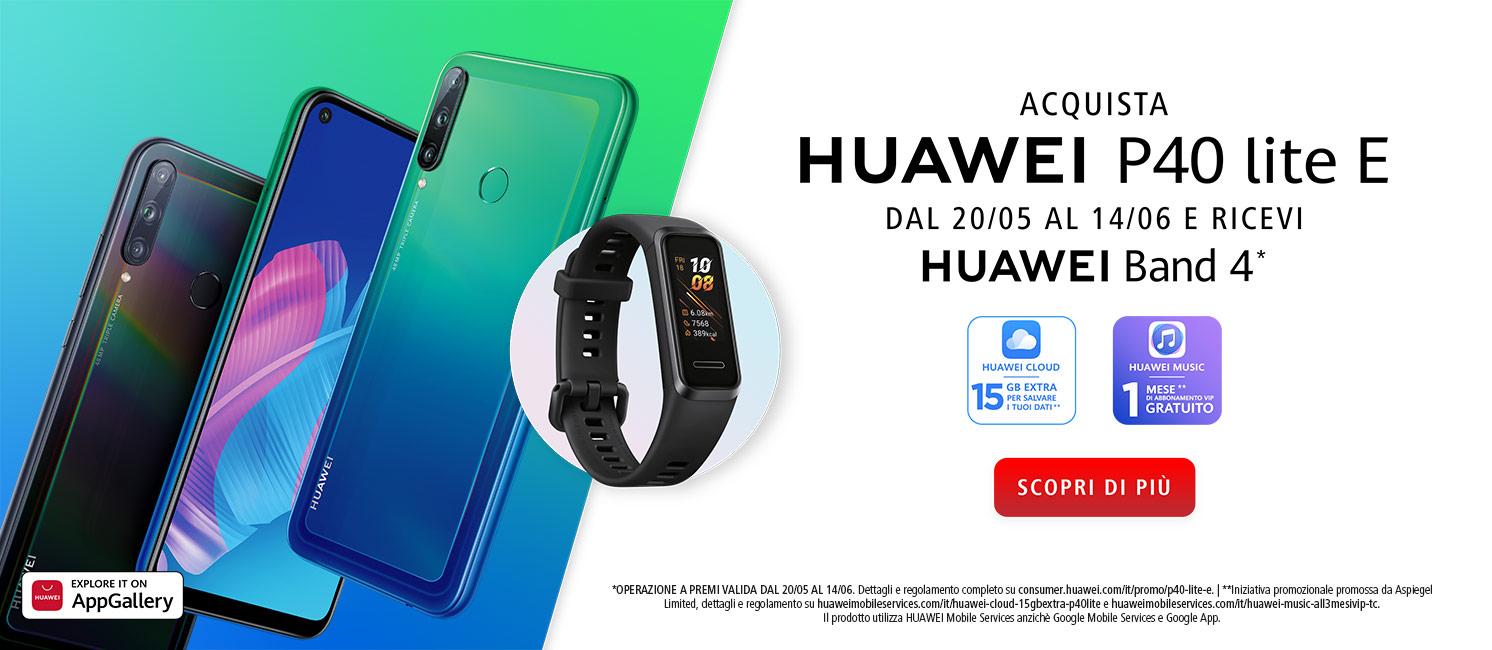 Promo: Huawei P40 Lite E