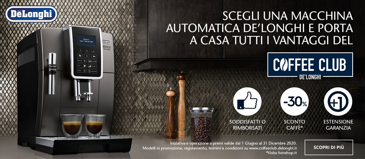 Promo: De'Longhi Coffee Club
