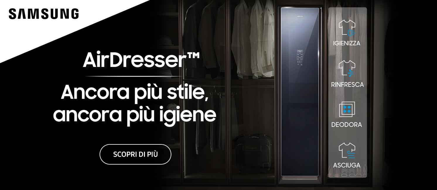 Promo: Samsung Air Dresser: Ancora più Stile, ancora più Igiene