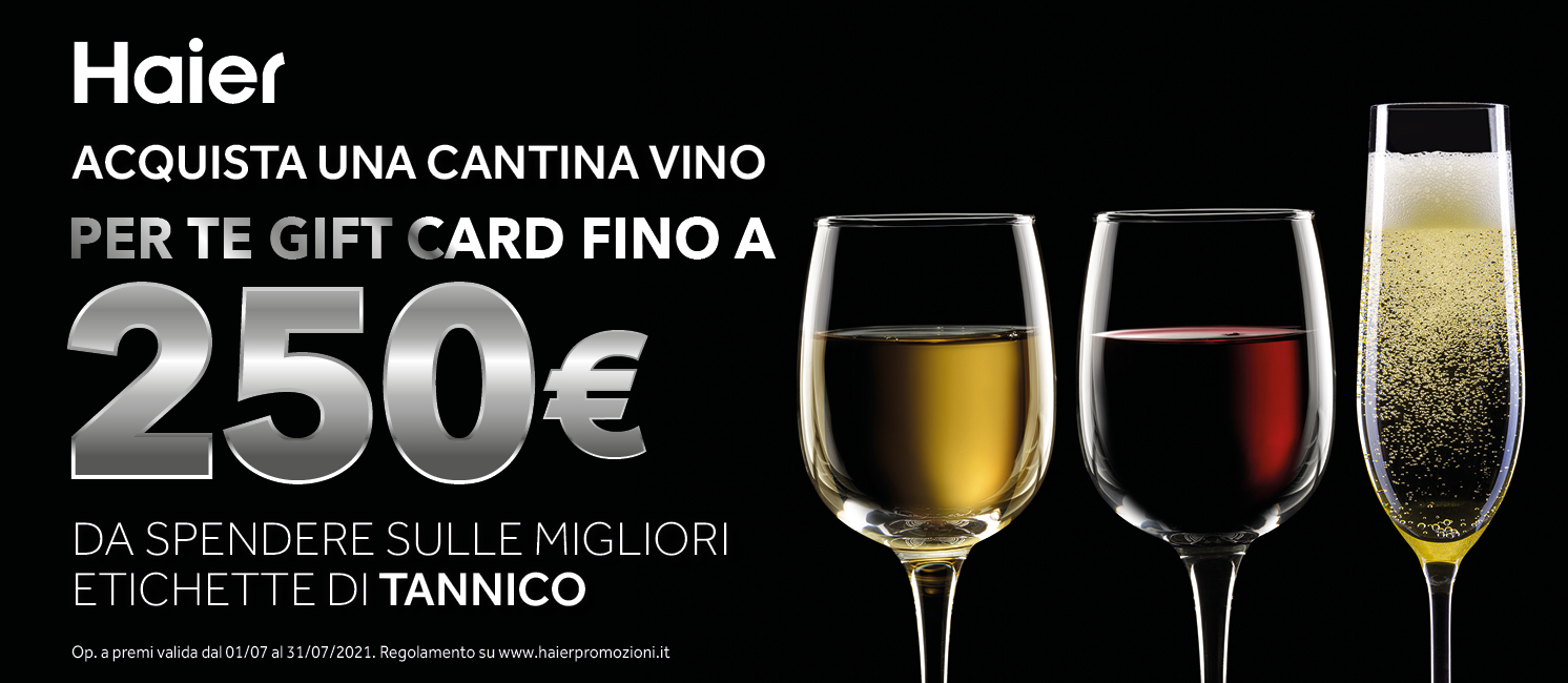 Promo: Speciale Haier Cantine Vino