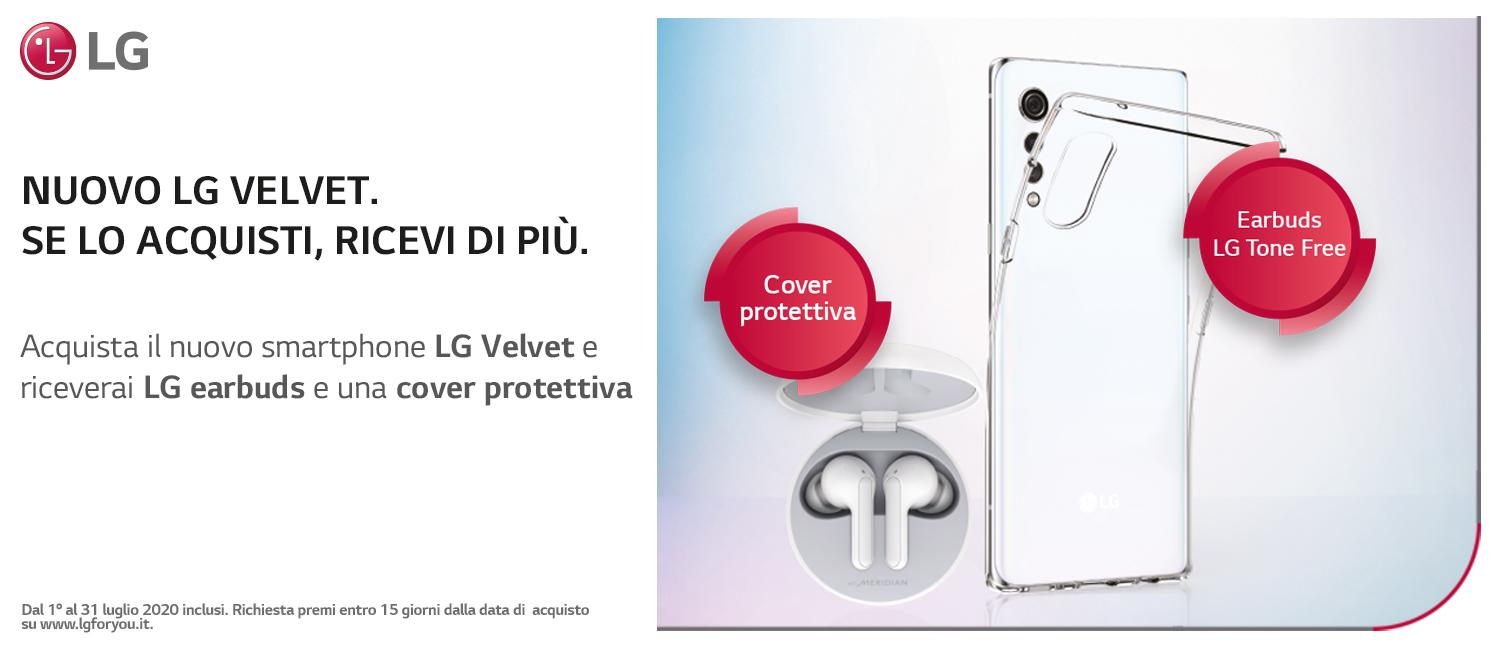 Promo: Nuovo LG Velvet