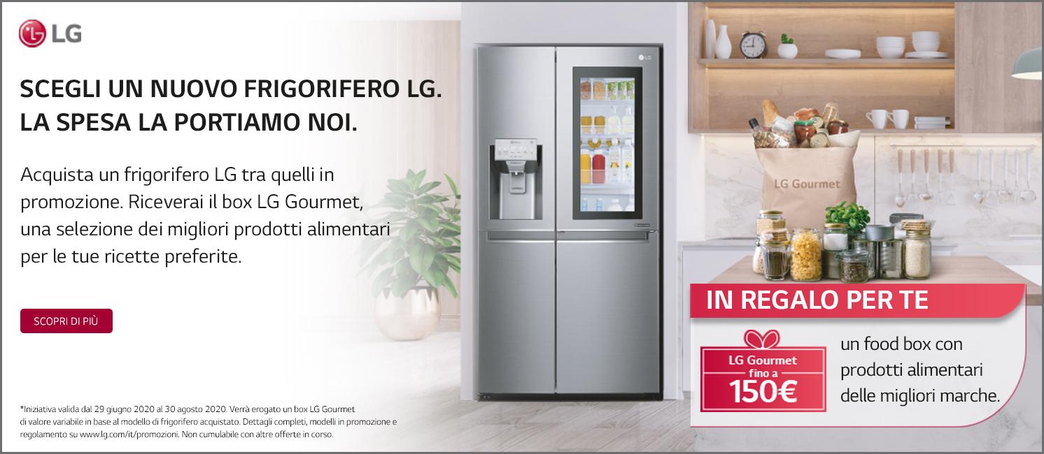 Promo: LG ti Regala la Food Box LG Gourmet