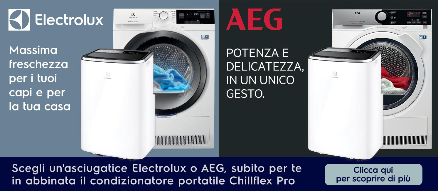 Promo: Asciugatrici Electrolux: un'abbinata incredibile