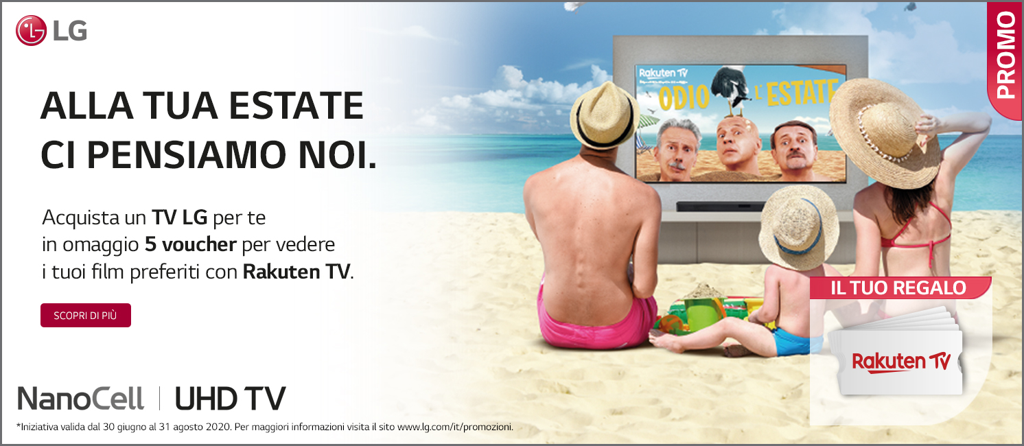 Promo: Alla tua estate ci pensa LG!
