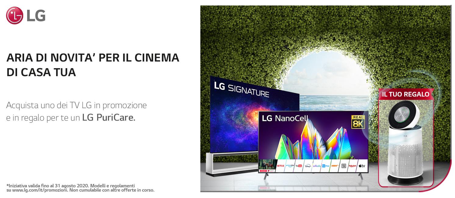 Promo: LG TV: aria di novità per il cinema di casa tua