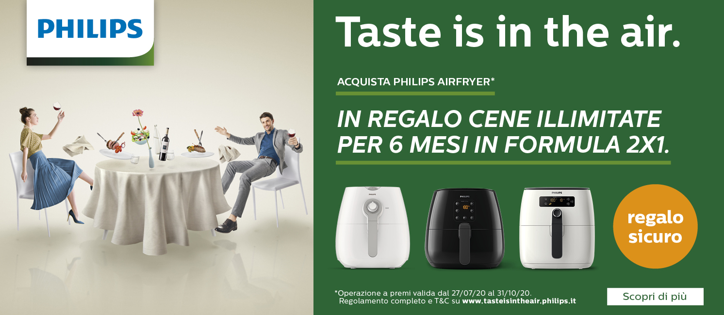 Promo: Philips Airfryer: Taste is in the air